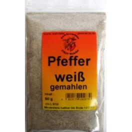 Pfeffer weiß gemahlen 40 g Btl.