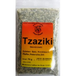 Tzaziki Gewürz 60 g Btl.