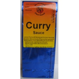 Curry Sauce 250 ml Btl., blau