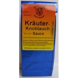 Kräuter Knoblauch Sauce 250ml Btl. blau
