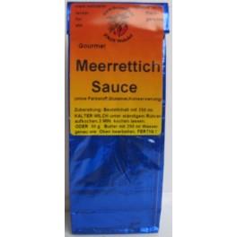 Meerettich Sauce 250 ml Btl., blau