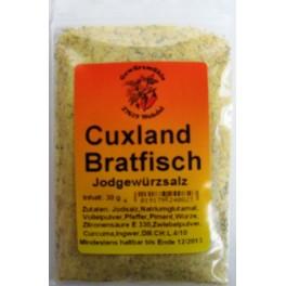 Cux Bratfisch Jodgewürzsalz 30 g Btl.