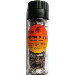 Pfeffer und Salz 60 g Mühle