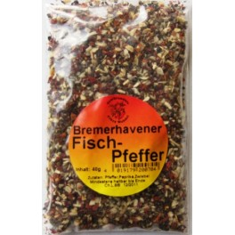 Bremerhavener Fischpfeffer   40 g Btl.