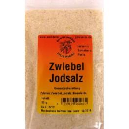 Zwiebel-Jodgewürzsalz 50 g Btl.