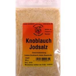 Knoblauch-Jodgewürzsalz 50 g Btl.