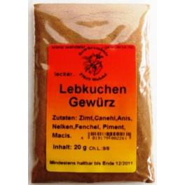 Lebkuchengewürz  20 g Btl.