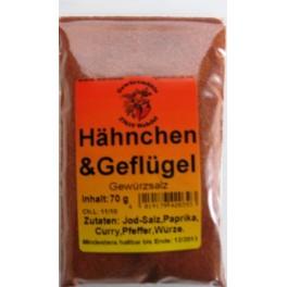 Hähnchen & Geflügelgewürz 60g Btl.